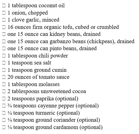 Recipe for more fiber in your diet