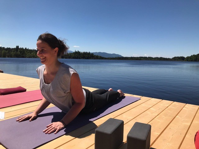 Yoga against stress and pain